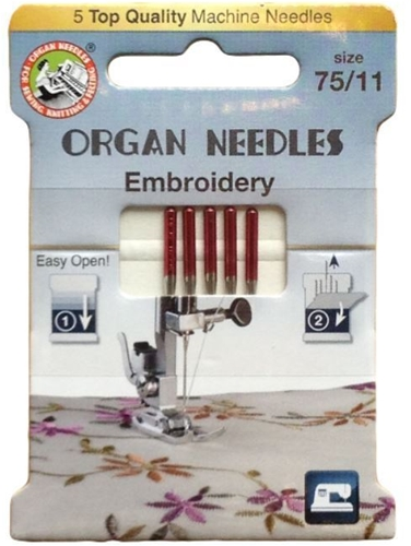 Embroidery Needles | Organ Needles - pack of 5 needles