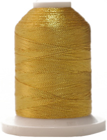 'J' Metallic embroidery thread