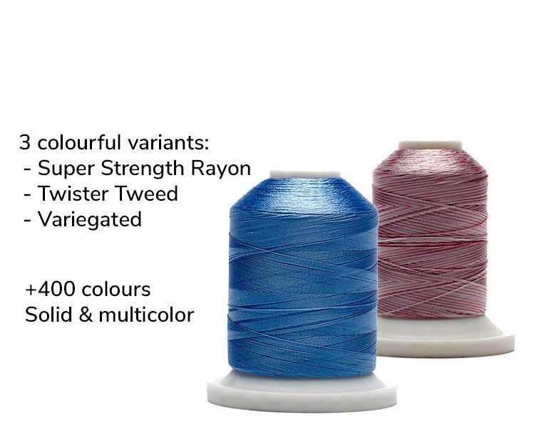 Super Strength Rayon embroidery thread by robison-anton